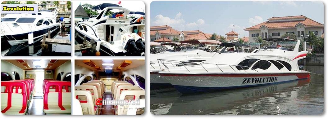 Sewa Kapal Speedboat Zevolution