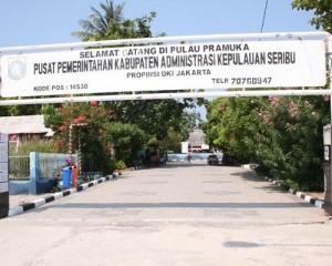 Pulau Pramuka Tour - Main Gate