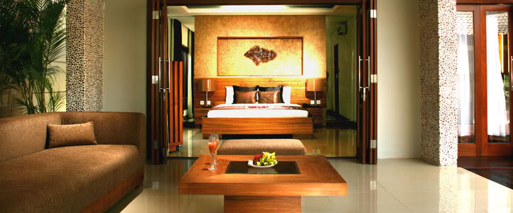 Bali Grand Akhyati Villas Honeymoon Package -  Ruang Tamu Mewah