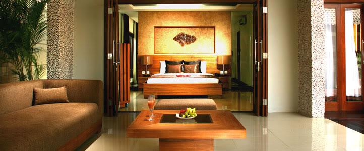 Bali Grand Akhyati Villas Honeymoon Package -  Ruang Tamu Mewah