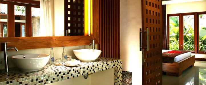 Bali Grand Akhyati Villas Honeymoon Package - Wastafel