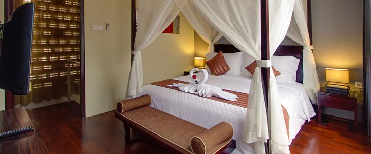 Bali 18 Suites Villas Honeymoon Package - Bedroom Villa