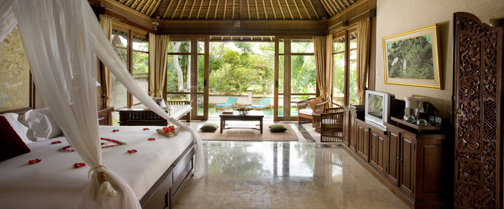 Bali Pitamaha Resort Honeymoon Package -  Pool Garden Villa