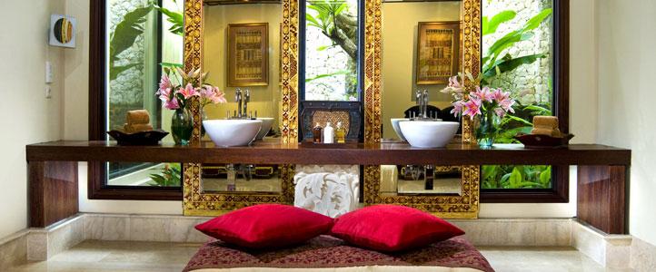 Bali Ayana Resort Honeymoon Package - Ayana Villa Bathroom
