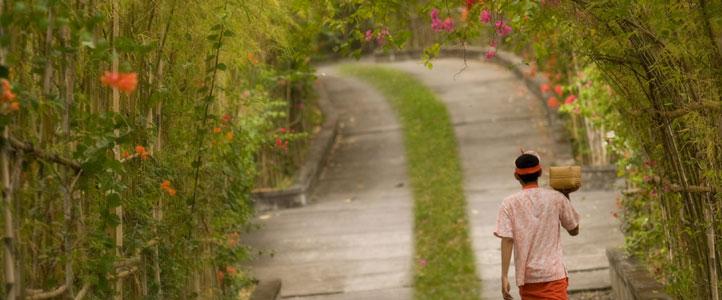 The Hill Villas Honeymoon - Bambu Drive Way