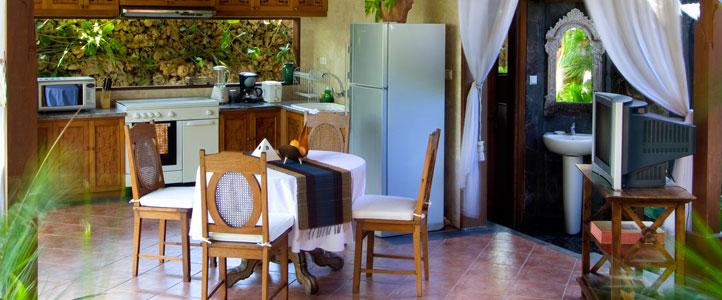 The Hill Villas Honeymoon - kitchen garden