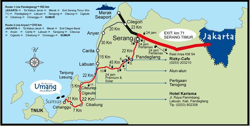 peta pulau umang