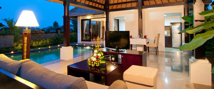 Bali Santi Mandala Villa Honeymoon Package - Villa Exterior