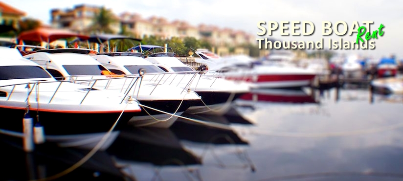 Sewa Kapal Speed Boat