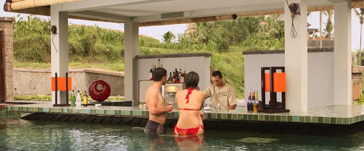 Bali Furama Xclusive Honeymoon - Lagoon Pool Bar