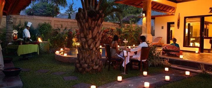 Bali Furama Xclusive Honeymoon - Villa Romantic Dinner