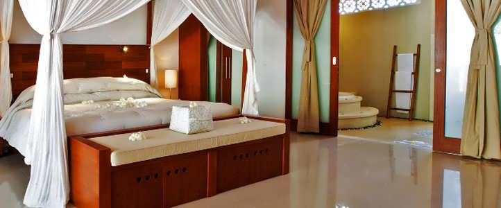 Lombok Puri Mas Boutique - Bedroom Pool Villa
