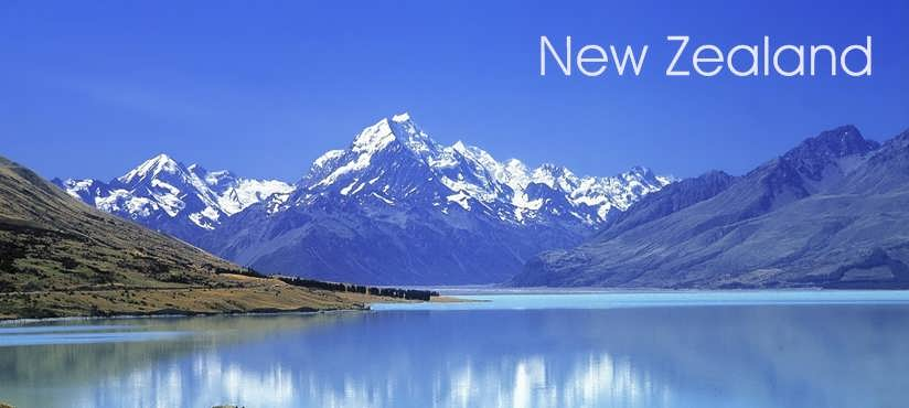 Scenic Southern New Zealand Banner