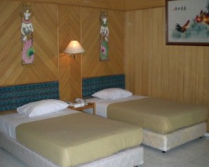Tour-Pulau-Putri-Resort-Akomodasi-Twin-Bedroom