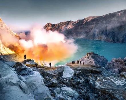 3D2N Kawah Ijen & Bromo Sunrise Tour - Gunung Ijen