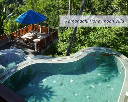 Bali Kamandalu Honeymoon Villa Package