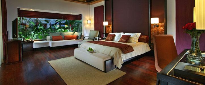 Bali Royal Santrian Honeymoon Villa - Deluxe Bedroom