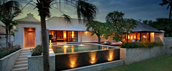 Bali Royal Santrian Honeymoon Villa - View Villa