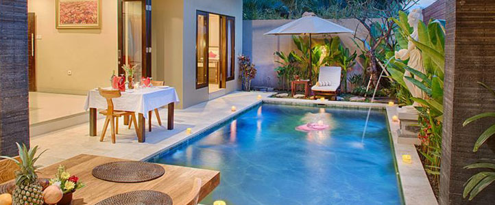 Bali Unagi Honeymoon Villa - Private Pool