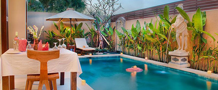 Bali Unagi Honeymoon Villa Romantic Pool Villa