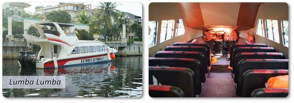 Sewa Kapal Speedboat Lumba Lumba