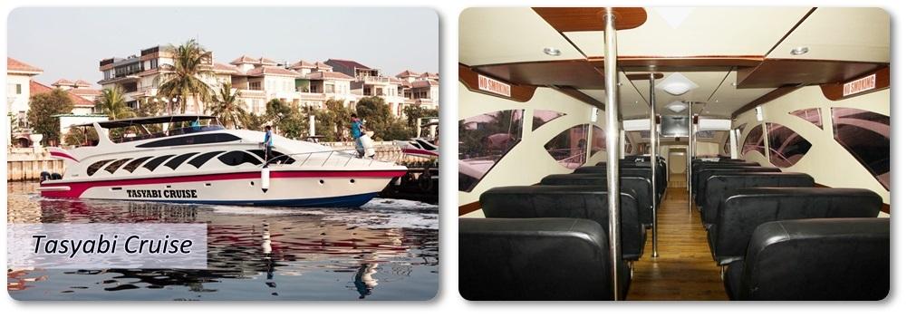 Sewa Kapal Speedboat Tasyabi Cruise