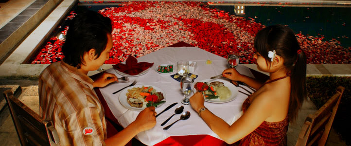 Bali Merita Villa Honeymoon Package - Romantic Dinner