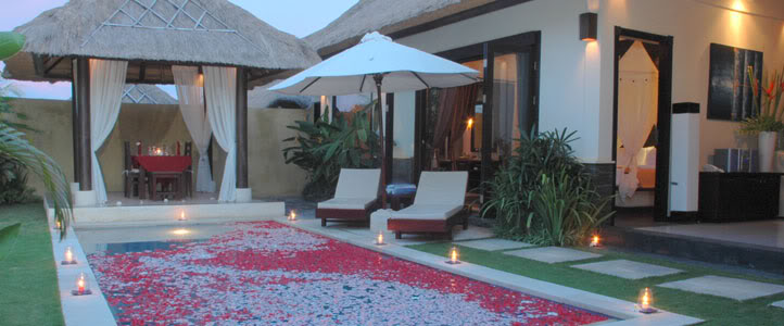 Bali Merita Villa Honeymoon Package - Romantic Private Pool