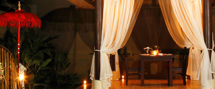 Bali Merita Villa Honeymoon Package - romantic-dinner