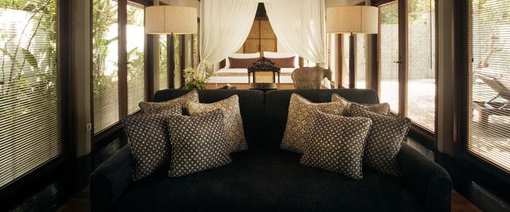 Bali Kayu Manis Villa - Living Room