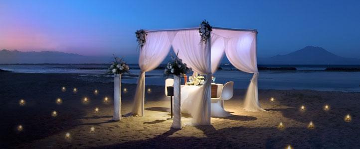 Bali Kayu Manis Villa - Romantic Dinner