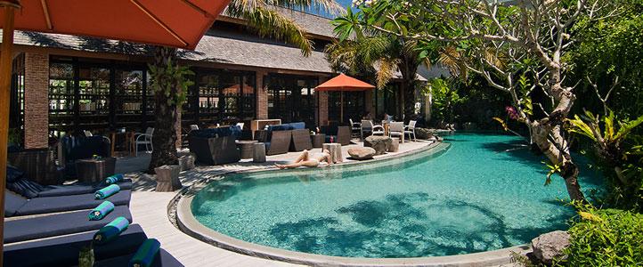 Bali Maca Seminyak Honeymoon Villa - Main Pool