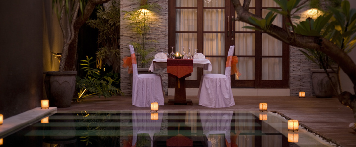 Bali Wolas Villa Honeymoon - Bulan Madu Romantic Dinner