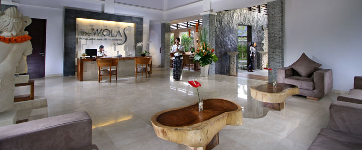 Bali Wolas Villa Honeymoon - Lobby