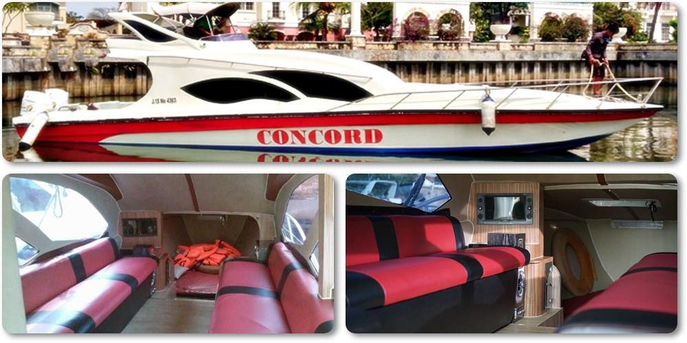 Sewa Kapal Speedboat Concord