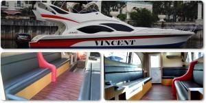 Sewa Kapal Speedboat Vincent