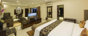Bali Flamingo Dewata Honeymoon - Deluxe Bedroom Pool Villa