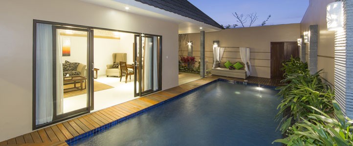 Bali Flamingo Dewata Honeymoon - Deluxe Pool Villa