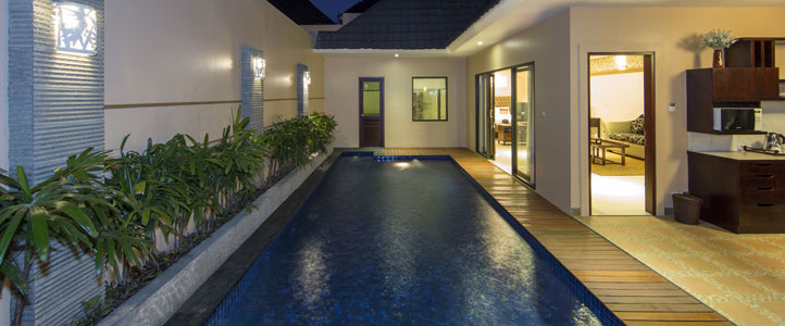 Bali Flamingo Dewata Honeymoon - Private Pool Villa