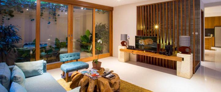 Bali Maca Umalas Honeymoon Villa - Living Room Villa