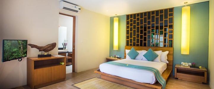 Bali Maca Umalas Honeymoon Villa - Private Bedroom Pool