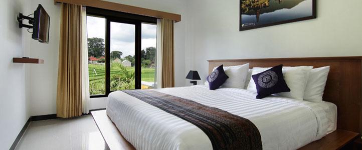 Bali Ardha Chandra Villa - Bedroom Villa