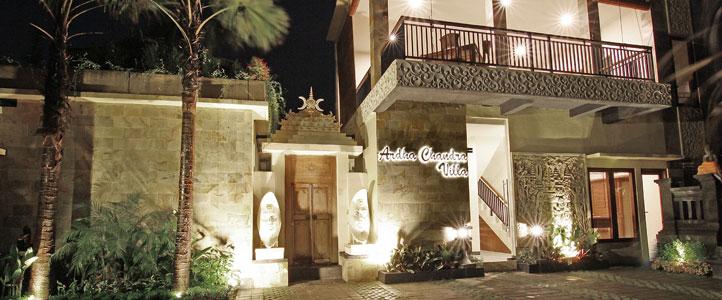 Bali Ardha Chandra Villa - Lobby Villa