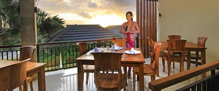 Bali Ardha Chandra Villa - Longue