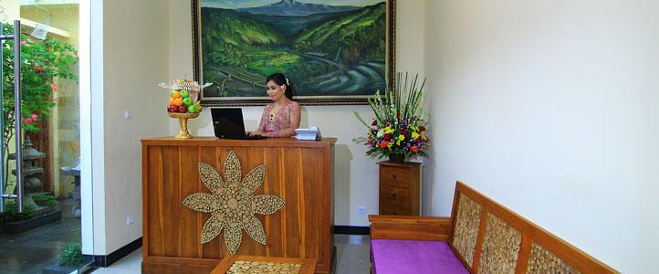 Bali Ardha Chandra Villa - Reception