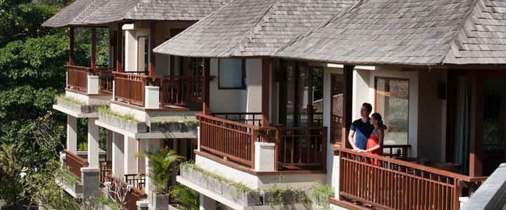 Bali Jannata Villa - Deluxe Suite Balcony