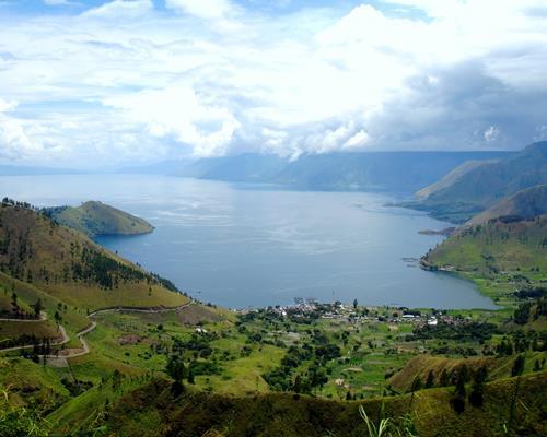 101+ Gambar Sketsa Danau Toba Yang Mudah Terbaik