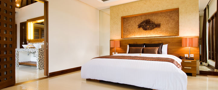 Bali Grand Akhyati Villas Honeymoon Package -  Luxury Bedroom Villa