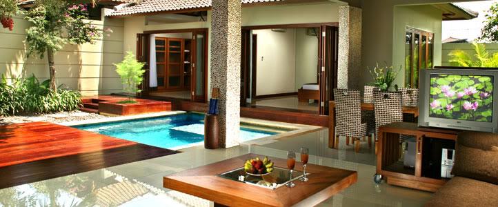 Bali Grand Akhyati Villas Honeymoon Package -  Ruang Tamu