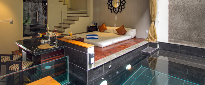 Bali 18 Suites Villas Honeymoon Package - Kolam Private Pool